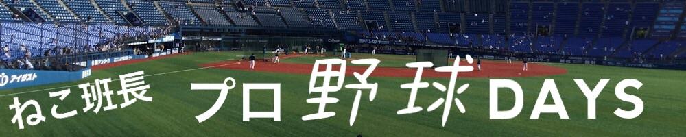 ねこ班長プロ野球DAYS